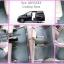 ผ้ายางปูพื้นรถ ราคาถูก Honda Odyssey ลายกระดุมสีเทาขอบเทา thumbnail 1