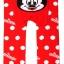 LG-908E95 Size 95 BUSHA Disney เลกกิ้งเด็ก ก้นเหลี่ยม-ก้นบาน ผ้ายืดเนื้อนุ่มทอลาย สีแดง (ขอบเอวสีแดง) thumbnail 1