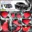 ขายยางปูพื้นรถเข้ารูป Isuzu D-Max 2012-2017 4 ประตู ลายกระดุมสีแดงขอบดำ thumbnail 1