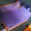 ผลิตและจำหน่ายพรมปูพื้นรถยนต์เข้ารูป Ford Ranger 4ประตู ลายสนุ๊กสีม่วงขอบส้ม thumbnail 3