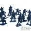 โมเดลทหารจิ๋ว สีน้ำเงิน thumbnail 2