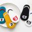 ถุงเท้าสั้น คละสี แพ็ค 10คู่ ไซส์ L (อายุประมาณ 6-8 ปี) thumbnail 12
