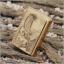 """ไฟแช็ค Zippo แท้ """"Zippo Where Eagles Dare Emblem Brushed Brass """" # 20854 แท้นำเข้า 100% thumbnail 1"""
