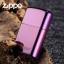 """ไฟแช็ค Zippo 24747ZL แท้ สีม่วงเข้มผิวมัน """" Zippo Logo Purple Abyss """" แท้นำเข้า 100% thumbnail 7"""