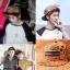 หมวกแฟชั่น EXO LUHAN. สีทองลายดำ thumbnail 1