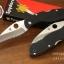 มีดพับ Spyderco รุ่น Civilian C12GS ด้าม G10 ใบมีดหยัก Serrated Blade (OEM) A++ thumbnail 9
