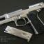 ปืน BBgun WE Berretta M92FS Silver Full Auto ยิงรัวได้ (ไต้หวัน) โลหะทั้งตัว thumbnail 9