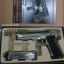 ปืน BBgun WE ไต้หวัน Berretta M 92 Silver 6 mm. AirSoftGun thumbnail 2