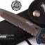 มีดพับ WALTHER Tanto Serrated Folding Sheath Knife ขนาด 8 5/8 นิ้ว (OEM) thumbnail 5