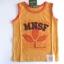 KPTT031L MiniSafari เสื้อเด็กชาย เสื้อกล้าม/แขนกุด สีส้มอิฐกุ๊นส้ม ลายสกรีน+ปักแปะ ใบไม้ MNSF เหลือ Size 3Y thumbnail 1