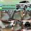 ขายยางปูพื้นรถเข้ารูป Isuzu D-Max 2012-2017 4 ประตู ลายกระดุมสีเทาขอบแดง thumbnail 1