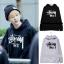 เสื้อฮูดแขนยาว เสื้อแฟชั่นเกาหลี BTS Jungkook SUGA thumbnail 1