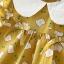 ชุดเดรสสีเหลืองลายขนมปัง+กางเกงใน แพ็ค 4 ชุด [size 6m-1y-18m-2y] thumbnail 4