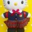 ตุ๊กตาเฮลโหลคิตตี้ชุดเรียนญี่ปุ่น Hello Kitty Japanese costume thumbnail 3