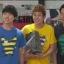 เสื้อลายการ์ตูน แบบ JYJ (สีเหลืองลายขวาง) thumbnail 3