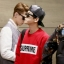 เสื้อแฟชั่นแขนยาว EXO BAEKHYUN SUPREME สีแดง thumbnail 3