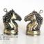 ไฟแช็คแก็ส แฟนซี รูปทรงหัวม้า สีทองเหลือง ตัวหมากรุกม้า ไฟธรรมดา thumbnail 1