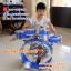 ชุดกลองของเด็ก ถูกสุดเพียง499 / ชุดพร้อมเก้าอี้ กลอง Big Band กลองชุดเด็กสีน้ำเงิน thumbnail 26