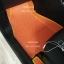 พรมรถยนต์สั่งตัด MG3 ลายกระดุมสีส้มขอบเหลือง thumbnail 3