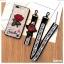 เคส IPhone X tpu ลูกไม้ปักดอกกุหลาบพร้อมสายคล้อง 2 สั้น/ยาว(ใช้ภาพรุ่นอื่นแทน) thumbnail 3