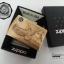 """ไฟแช็ค Zippo แท้ """"Zippo Where Eagles Dare Emblem Brushed Brass """" # 20854 แท้นำเข้า 100% thumbnail 3"""