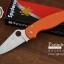 มีดพับ Spyderco รุ่น Paramilitary 2 ด้าม G10 สีส้ม ขนาด 8 นิ้ว (OEM) A+ thumbnail 2