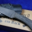 Winkler Knives II Blue Ridge Hunter Caswell Black Micarta
