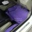 ขายพรมปูพื้นรถเข้ารูป honda city 2012 ลายกระดุมสีม่วงขอบดำ thumbnail 2