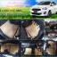 ผ้ายางปูพื้นรถยนต์ Mitsubishi Attrage ลายธนูสีน้ำตาลขอบดำ thumbnail 1