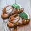 รองเท้าเด็กแฟชั่น สีเขียว แพ็ค 5 คู่ ไซต์ 26-27-28-29-30 thumbnail 2