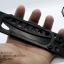 มีด Smith and Wesson มีดพับสนับชก มีดต่อสู้ระยะประชิด Tactical (OEM) แสตนเลสทั้งแท่งสีดำ thumbnail 8