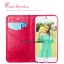 เคสฝาพับ iPhone 6/6s แบรนด์ Leiers Domi Cat สีชมพูเข้ม thumbnail 4