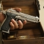 ปืน BBgun GUN HEAVEN Berretta 92FS Silver 6 mm. AirSoftGun thumbnail 9