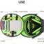 Bubm Hb-L Headphone Bag Dj กระเป๋าหูฟังครอบหูขนาดใหญ่ Fullsize Monitor Headphone Case มีหูหิ้วและสายสะพายข้าง thumbnail 12