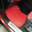 ผ้ายางปูพื้นรถยนต์เข้ารูป Land Rover Rang Rover Sport ไวนิลสีแดงขอบแดง thumbnail 3