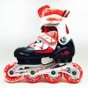 รองเท้าสเก็ต rollerblade รุ่น MFR สีแดง-ดำ พร้อมเซทสุดคุ้ม Size S