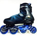 รองเท้าสเก็ต rollerblade รุ่น MSB สีดำ-น้ำเงิน Fixed Size 45