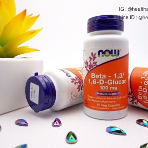 # ภูมิคุ้มกัน # Now Foods, Beta-1,3/1,6-D-Glucan, 100 mg, 90 Vcaps