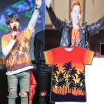 เสื้อแฟชั่นนักร้องเกาหลี เสื้อยืดแฟชั่น Bigbang GD BTS SUGA XXL