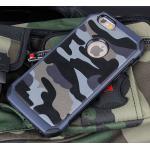 เคสลายทหาร ไอโฟน 6 plus 5.5 นิ้ว-ฟ้า