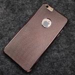 เคสนิ่มลายโลหะไอโฟน 6/6s plus 5.5 นิ้ว-Rose gold