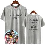 เสื้อยืด เสื้อแฟชั่นเกาหลี BTS J-HOPE : สีเทา XXL