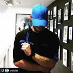 หมวกแฟชั่น GD BIGBANG สีน้ำเงิน (ออกฟ้า)