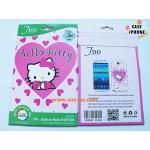 ฟิล์มกันรอยลายการ์ตูน Samsung Galaxy Note 2 ลาย Hello Kitty-7