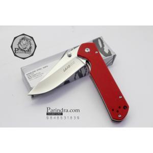 มีดพับ Land Knife GB9-910 ด้ามสีแดงเลือดนก (ของแท้) สวยงาม แกร่ง ทนทาน