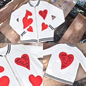 Your Eye & Heart Jacket แจ๊คเก็ตสกรีนลายหัวใจ