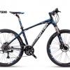 จักรยานเสือภูเขา TWITTER ,TW7500 เฟรมอลู ซ่อนสาย 27 สปีด ล้อ27.5 Bearing