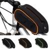 กระเป๋าคาดบนเฟรม Roswheel 12492 (สีดำส้ม)