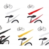 บังโคลน WOHO Bike Bicycle Easily Stored Flying Fender ,size M,L