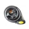 CLIMA สายล็อค+สายรัดเก็บ ขนาด 12 x 150 ซม. (สายสีดำหัวกุญแจสีเหลือง) รุ่น U37112